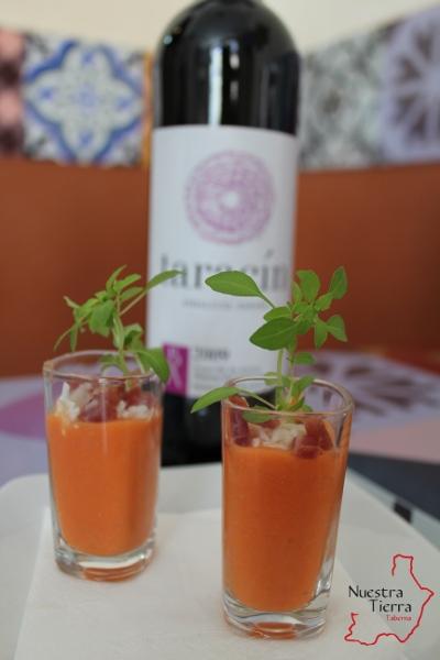 Vino Taracín y salmorejo - Degustación jueves 25 de abril